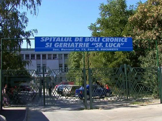 """Spitalul de bolnavi cronici şi geriatrie ,,Sf. Luca"""""""