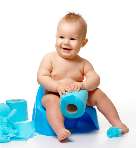 Metodă neobişnuită dar eficientă prin care vă învăţaţi copilul să facă la oliţă de la 9 luni
