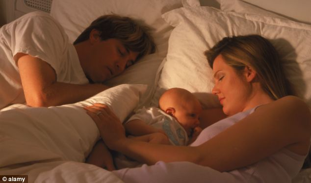 Ce risc major au bebeluşii care dorm în acelaşi pat cu părinţii