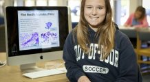 O liceană de 18 ani a inventat un soft de depistare a leucemiei