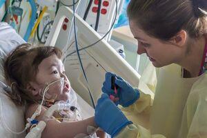 A fost grefată în premieră mondială o trahee unui copil de doi ani