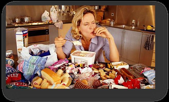 Drumul de la depresie la obezitate
