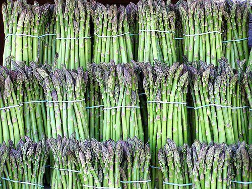 Sparanghelul e cel mai gustos în lunile mai și iunie