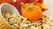 Seminţele de dovleac previn infarctul şi calmează durerile provocate de gută