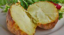 Cartofii copți vă ajută să vă mențineți colonul sănătos