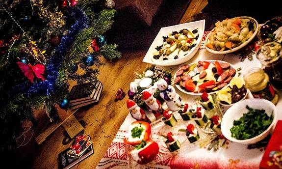 Formula unui meniu perfect pentru masa de Crăciun, care satură fără să îngraşe