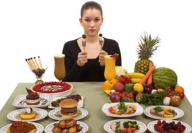 Dieta dezechilibrată nu poate fi înlocuită în totalitate de la început, ci fiecare obicei trebuie înlăturat separat, pas cu pas