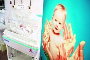 Un copil prematur are nevoie de îngrijiri speciale și de multe mâine care să o facă Foto: Dorna