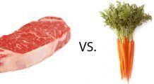 Vegetarian versus carnivor: cine mai bun la pat?