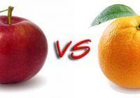 Bătălia fructelor. Care este mai sănătos: mărul sau portocala?