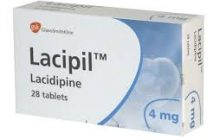 LACIPIL, Tablete