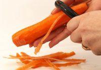 Cum e mai bine să mănânci morcovii: cu coajă sau fără?