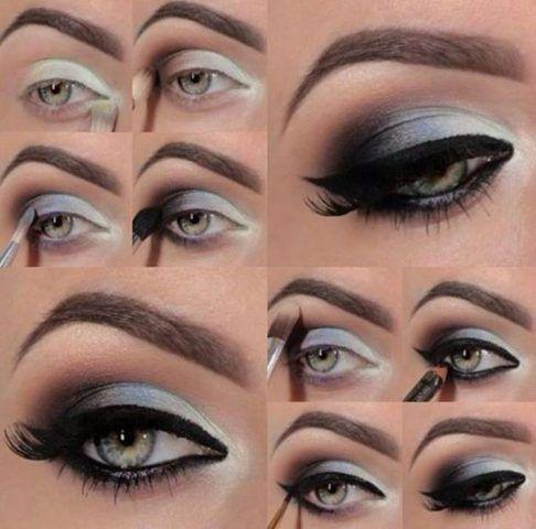 Pasi pentru machiajul ochilor