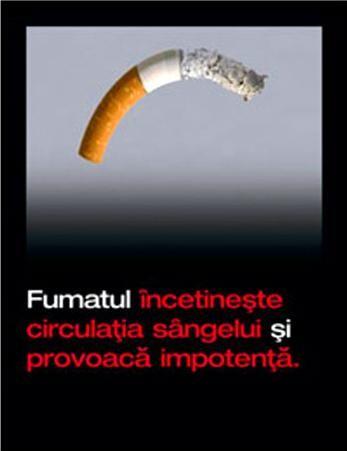 Fumatul provoacă impotență. Cât de reale sunt avertismentele de pe pachetele de țigări?