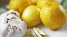 Usturoiul amestecat cu lămâie, remediu miraculos