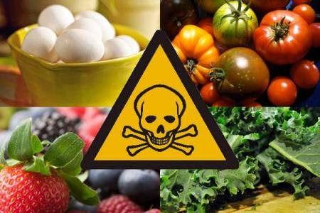 Fructele și legumele din piețele noastre care conțin cele mai multe pesticide