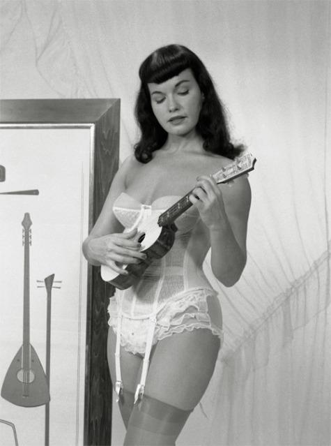 1.Bettie Page