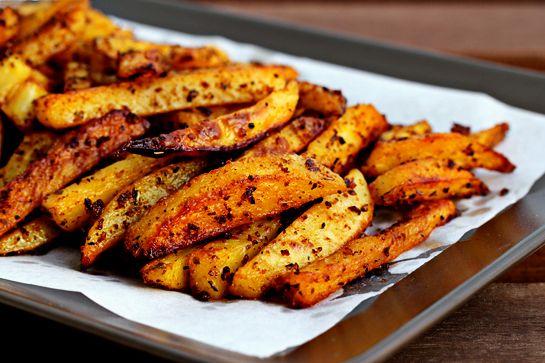 """Cartofi """"prăjiți"""" cu puține calorii. Delicioși și sănătoși"""
