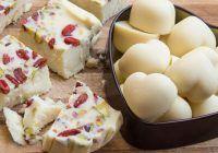 Ciocolată albă raw. Sursa: madeline.ro