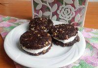 Biscuiți Oreo sănătoși fără zahăr și fără făină
