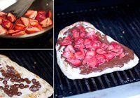 Pizza cu fructe și ciocolată! Desertul inedit ușor de preparat