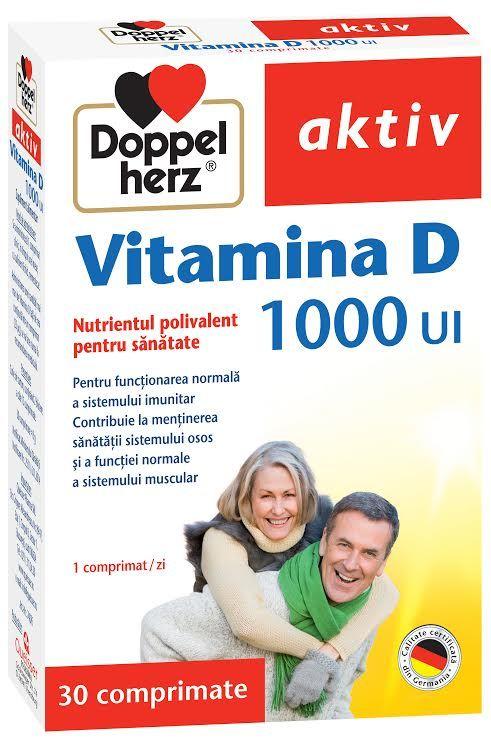 Doppelherz aktiv Vitamina D asigură aportul optim de Vitamina D necesar sănătății organismului