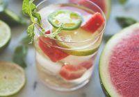 Băutura răcoritoare perfectă pentru zilele toride de vară. Iată cum se prepară