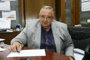 Acadademicianul Laurentiu Mircea Popescu, raspunde intrebarilor in timpul unui interviu acordat, 6 iunie 2012, Evenimentului zilei.