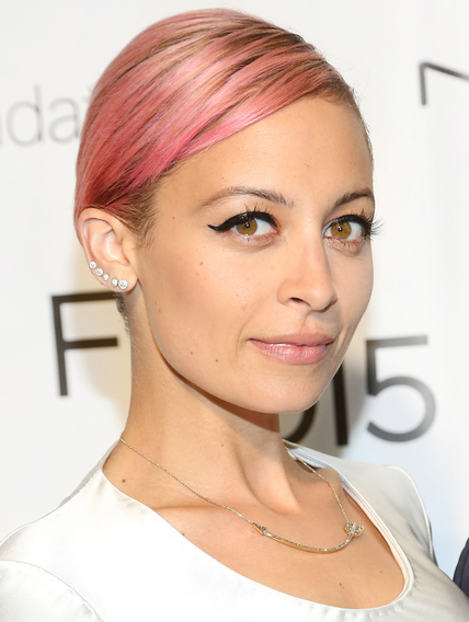 NEW YORK, NY - APRIL 30:  Host Nicole Richie attends 2015 FIT Future Of Fashion Runway Show at The Fashion Institute of Technology on April 30, 2015 in New York City.  (Photo by Monica Schipper/FilmMagic)