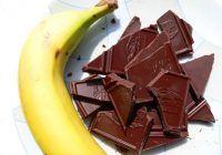 Cum să slăbești cu ciocolată și banane?