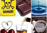 Aceste cantități de cafea, ciocolată, cireșe și apă te pot ucide. Iată cât de mult trebuie să consumi