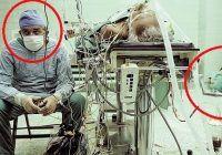 Nu o să-ți vină să crezi care e povestea acestei poze. Medicul a murit dar pacientul trăiește și acum