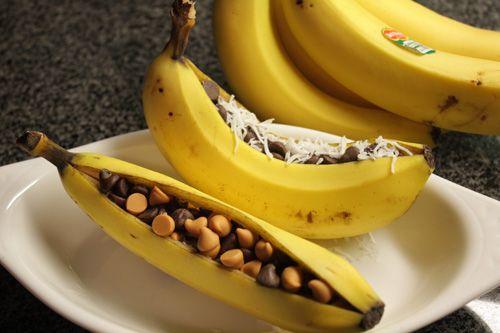Desert delicios și rapid de făcut – bărcuțe din banane