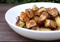 Rețeta de la mama – cum prepari cartofii copți crocanți?