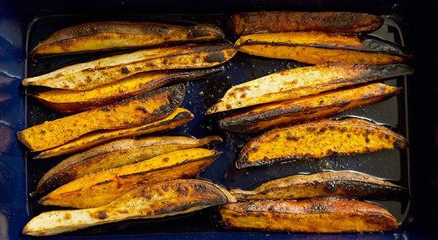 Cum prepari cei mai sănătoși cartofi wedges?