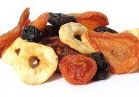 Cât de sănătoase sunt fructele uscate?