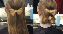 Cum îți faci o fundă din păr în mai puțin de 2 minute