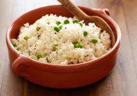 Bobby Flay's Basmati Rice Pilaf with Peas
