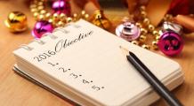 Lista obiectivelor pentru Anul Nou. Cum să devii persoana care ai visat