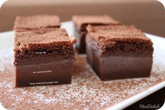 Dintr-un singur aluat ies 3 straturi diferite – rețeta prăjiturii inteligente