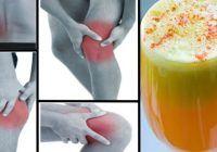 Scapă de durerile de spate și articulare cu acestă băutură anti-inflamatoare