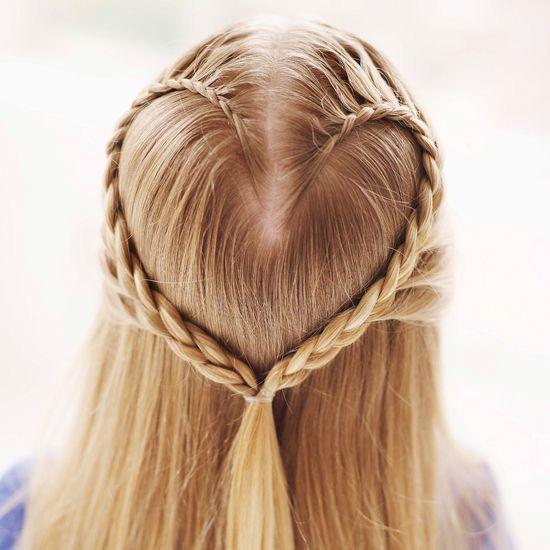 Cum îți împletești o inimioară în păr