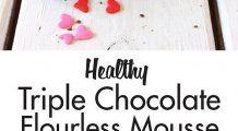 Cum faci negresă cu mousse de ciocolată fără făină, ouă, gluten sau lapte. Rețeta sănătoasă