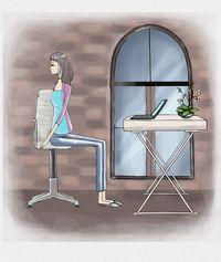 Aceasta este o poziție de yoga benefică pentru spate
