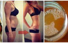Această băutură detoxifiantă te scapă de 9 kilograme în 10 zile