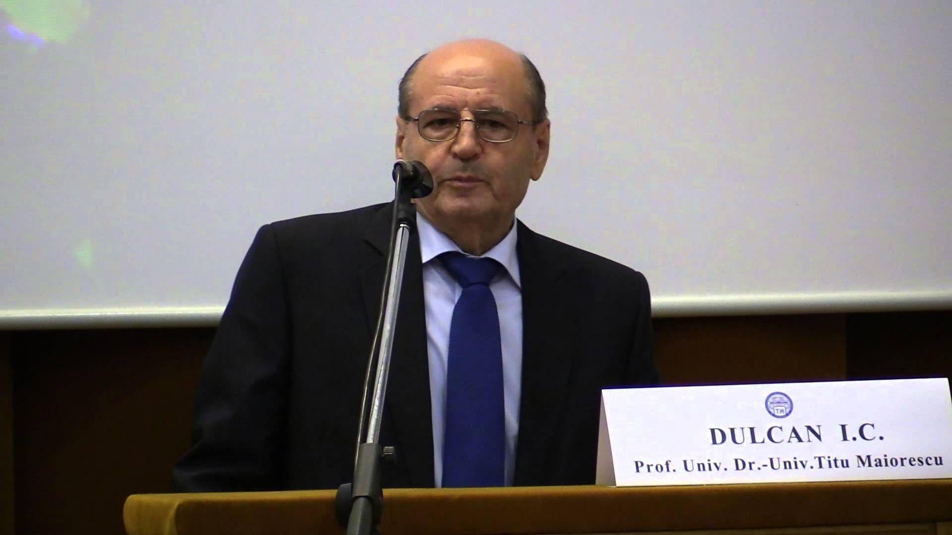 Prof. D. C. Dulcan: Stresul, ura, invidia provoacă în corp un pH acid, favorabil bolii