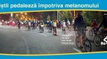 Bicicliștii pedalează pentru a atrage atenția asupra celui mai agresiv cancer de piele