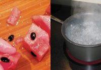Arunci semintele de la pepene? NU o mai face! Iata ce se intampla daca le fierbi