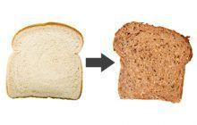 EXPERIMENT. Ce se întâmplă dacă înlocuiești pâinea albă cu cea neagră