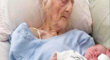 A născut un băiețel perfect sănătos la 101 ani